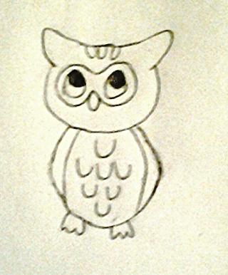 Owl by leeleewolfisaduck
