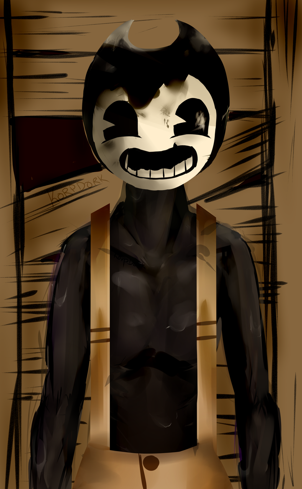 bendy and the ink machine sammy
