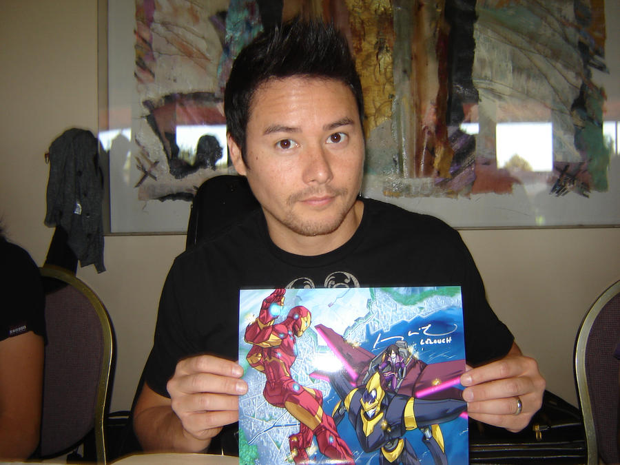 Sac Anime Johnny Yong Bosch by Hellsender