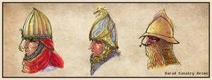 Harad Cavalry Helms
