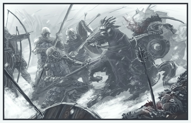 Dale units vs. Rhun by Merlkir