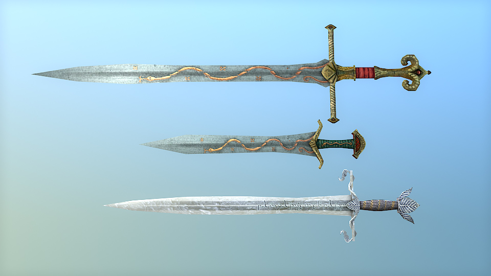 Swords of the West by Merlkir