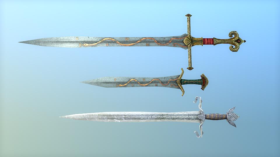 Swords of the West by Merlkir