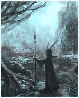 Woodwosse shaman by Merlkir