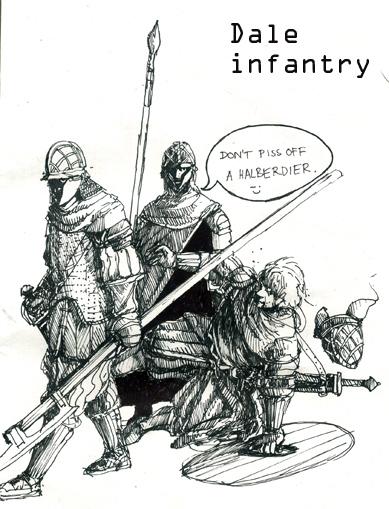 Dale Infantrymen by Merlkir