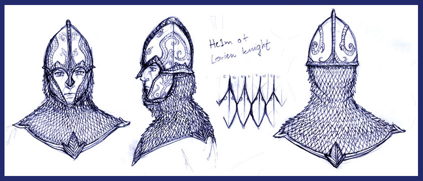 Lorien Knight Helmet by Merlkir on DeviantArt