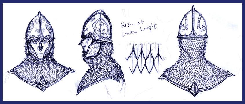 Lorien Knight Helmet by Merlkir on DeviantArt