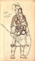Medium archaic infantry