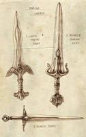 Marine Swords by Merlkir