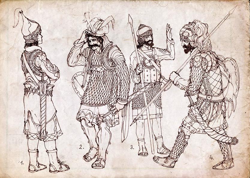http://fc04.deviantart.net/fs42/f/2009/076/4/a/Archaic_Cavalry_by_Merlkir.jpg