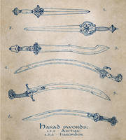 Harad swords by Merlkir