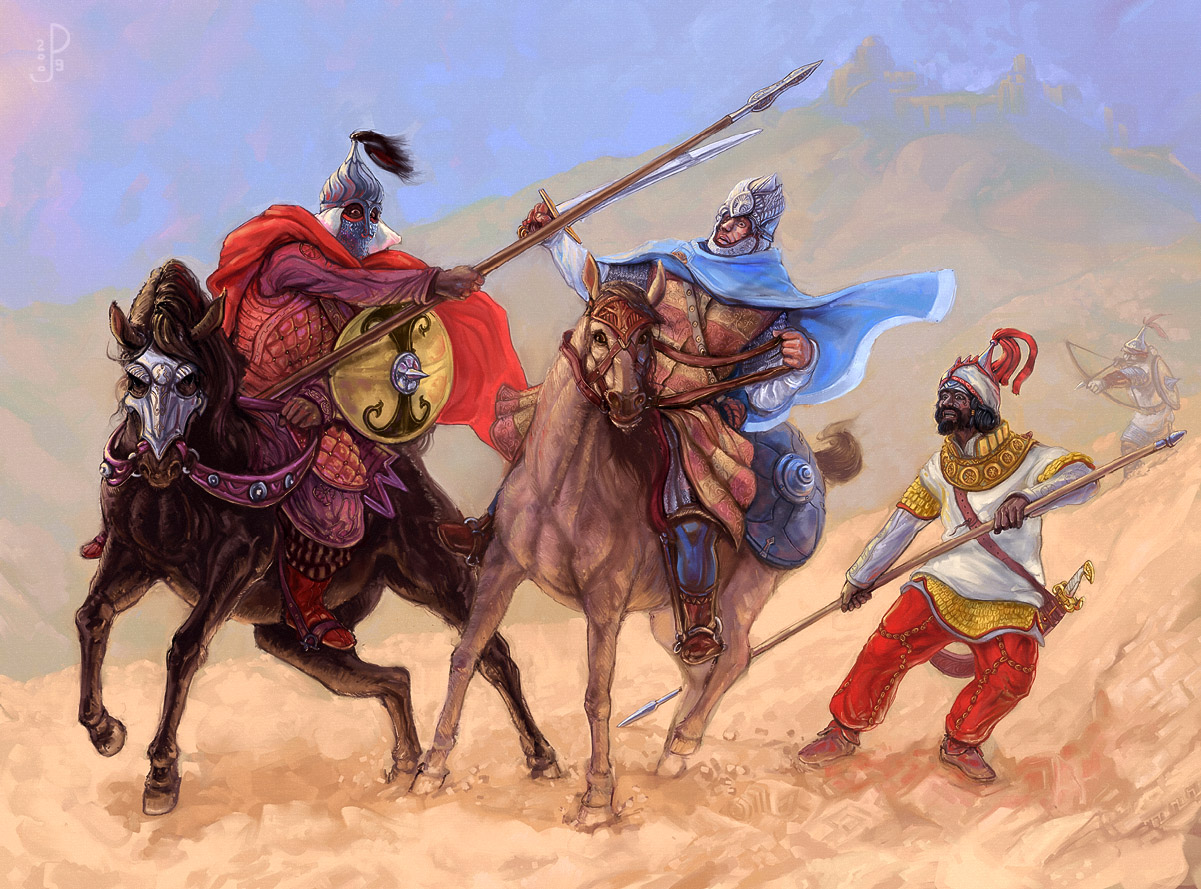 Harondor ambush by Merlkir