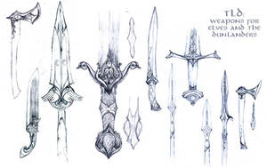 TLD: weapon designs by Merlkir