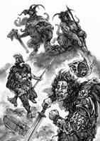 Glorantha: Broos by Merlkir