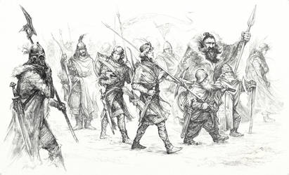 Armies of the North by Merlkir