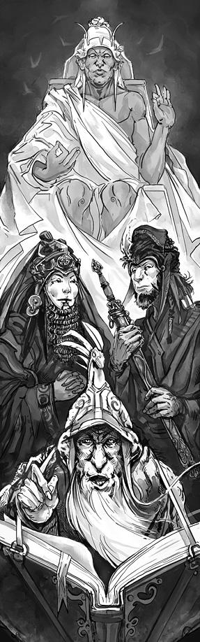 Offering to Pavis by Merlkir