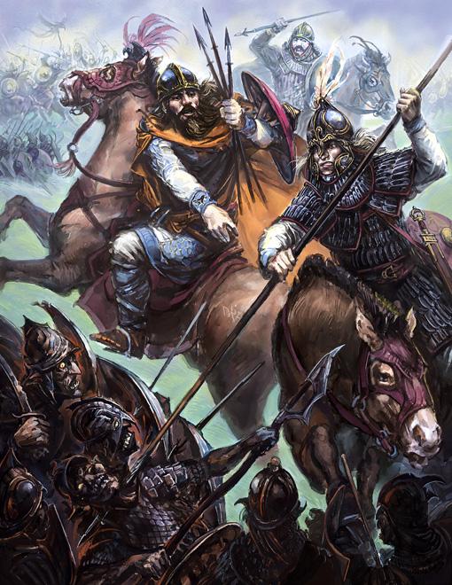 Forth Leofringas! by Merlkir