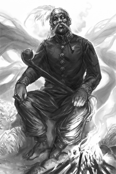 Hillfolk: Shaman by Merlkir