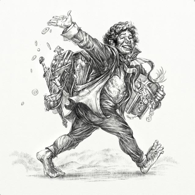 Hobbit Tales: Mad Baggins by Merlkir