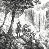 Hobbit Tales: Wandering Company by Merlkir