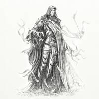 Hobbit Tales: Ghost by Merlkir
