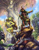 GtG: 11 - Elves by Merlkir