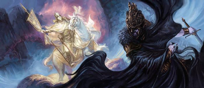 Battle of Fornost by Merlkir