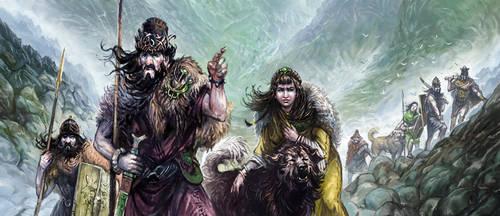 Hillmen and Wolfdogs