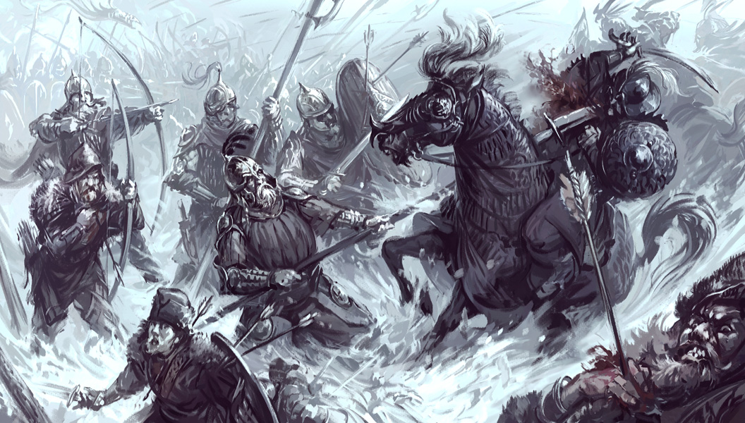 Battle of Dale (Revisited) by Merlkir