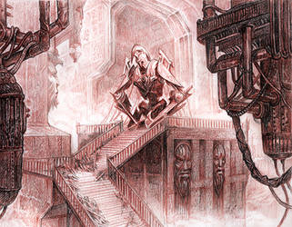 Tales of Tamriel: Dwemer Dungeon by Merlkir