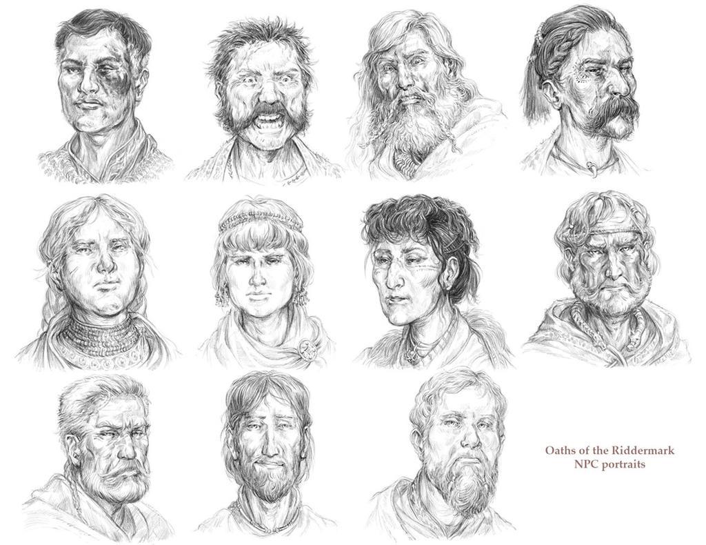 TOR: Rohirrim and Dunlendings by Merlkir