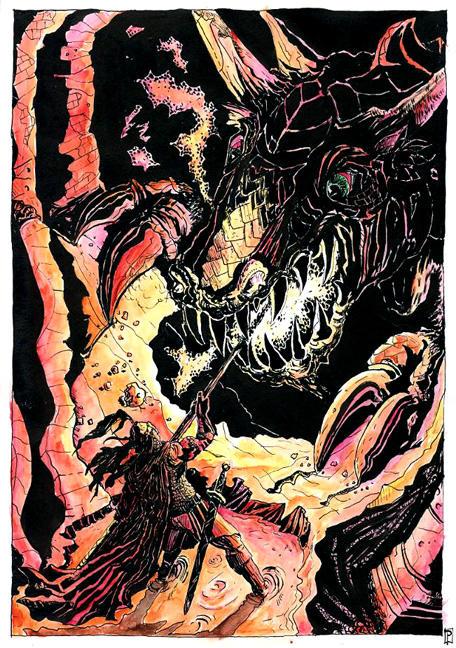 http://fc06.deviantart.net/fs7/i/2005/194/c/6/Fram_kills_Scatha_by_Merlkir.jpg
