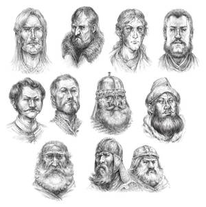 TOR: Laughter of Dragons Portraits 02