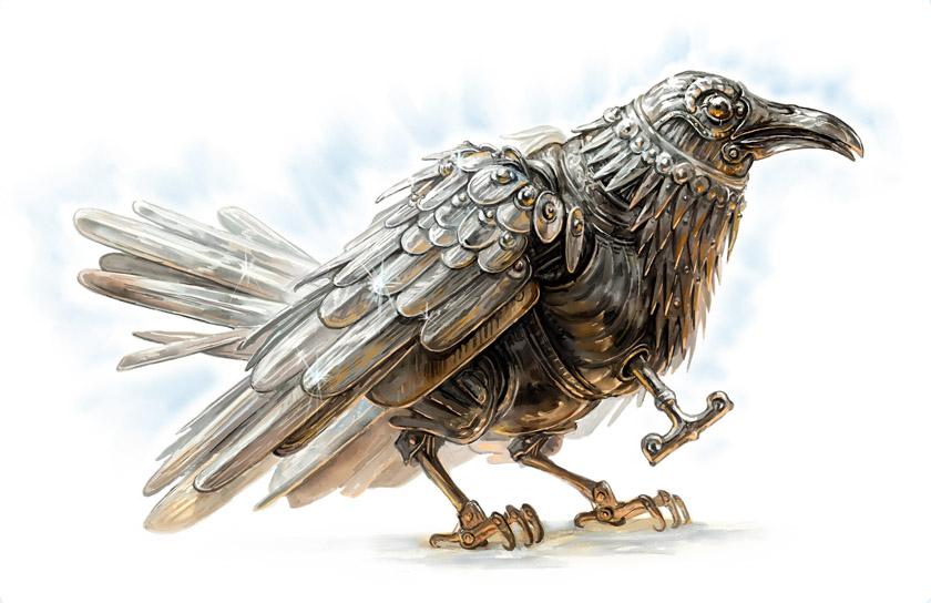 TOR: Marvellous Raven by Merlkir