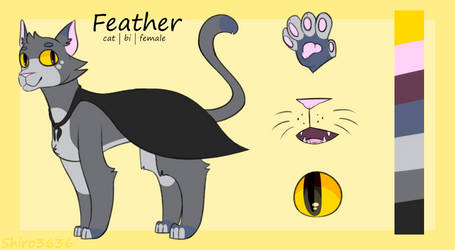 Feather ref 2019 by Shiro3636