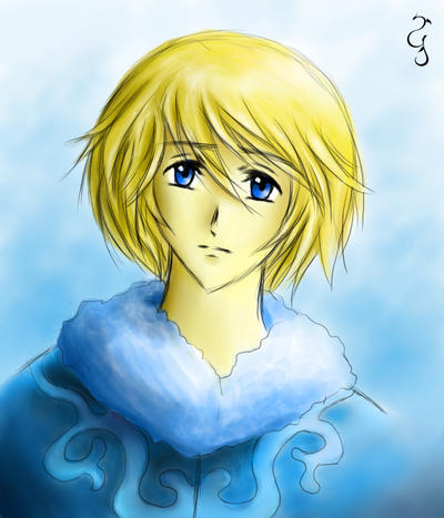 Fai: Blue Eyes by Fenrisfang
