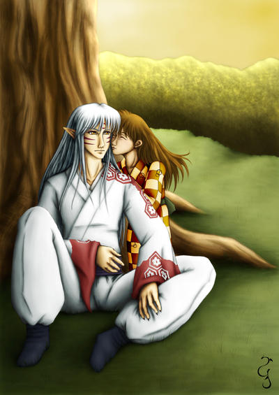 Sesshomaru and Rin: Affection by Fenrisfang