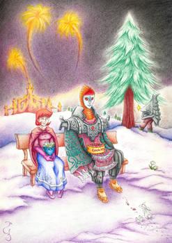 Anju and Zant: Christmas Time
