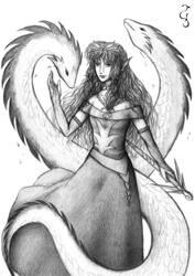 Commission: Dragon Lady Zoa