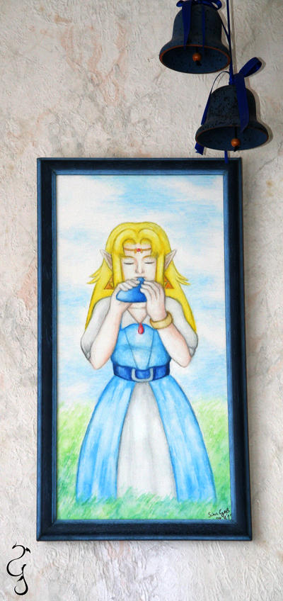 Canvas on the Wall: Zelda