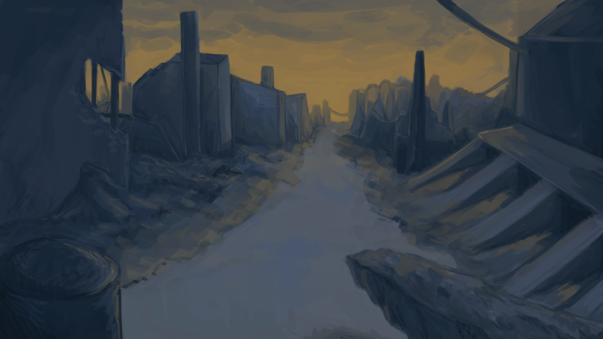 Ruined (Game BG) by BoWhatElse