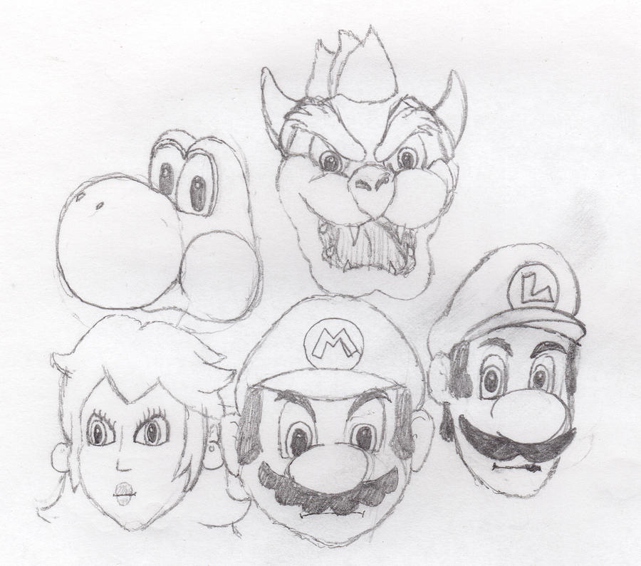 Mario Sketch By Tpresty On DeviantART