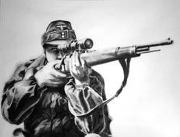 Fallschirmjager Sniper by spohniscool