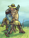 The Yakcow Herdsman colored