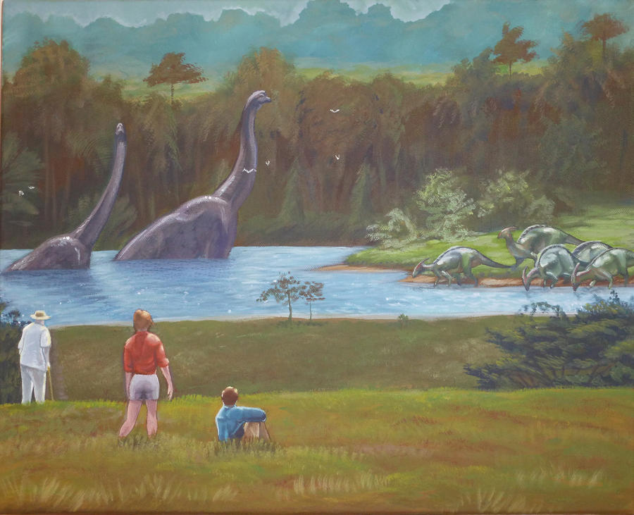 Welcome To Jurassic Park By Spohniscool On DeviantArt