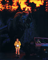 Jurassic Park by spohniscool