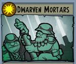 Cardcraft Dwarven Mortars