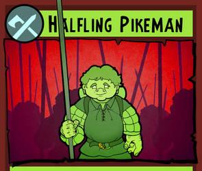 Halfling Pikeman