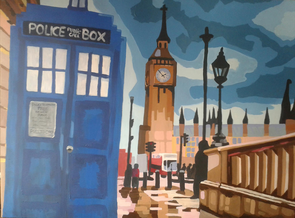 http://annadm.deviantart.com/art/The-Doctor-in-London-483064463
