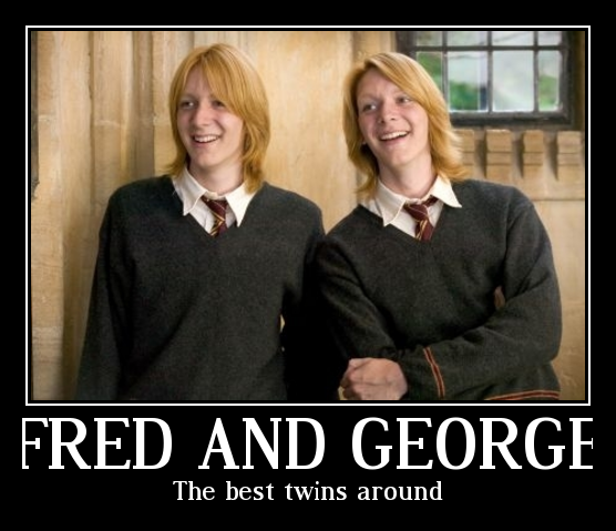 Fred and George are the best by fredgeorgerocks